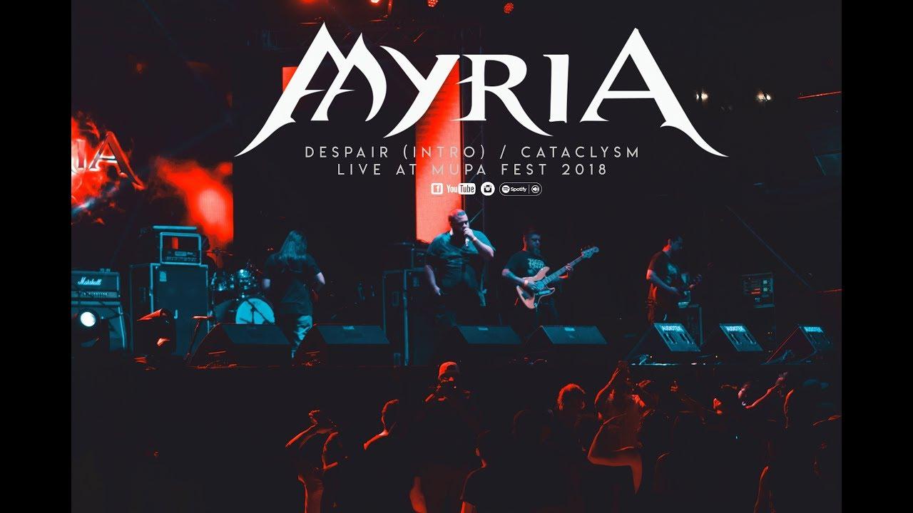 Download Myria - Despair / Cataclysm (OFFICIAL LIVE - MUPA FEST)