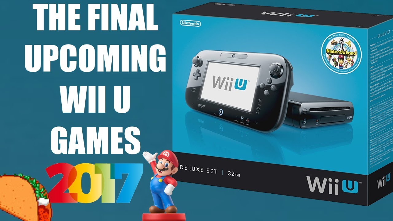 Out For Wii U Games : The last of nintendo wii u new upcoming games