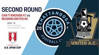 Live Video: 2016 Lamar Hunt U.S. Open Cup - Second Round: Chattanooga FC vs. Reading United