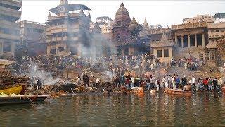 #5 Индия 2018. Жесть. Сжигание трупов. Напала обезьяна. Варанаси