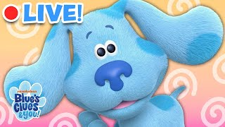 🔴LIVE: Blue Skidoo, We Can Too! | Blue's Clues & You!