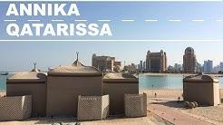 VÄLILASKU QATARISSA // Dohan nähtävyydet // Annika Nen Travel Vlog