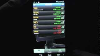 Stock Analyst Android App Review - CrazyMikesapps