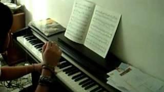 Enterrement de Mark Greene (ER) piano