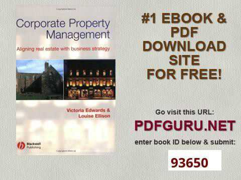 Corporate Property Management Aligning Real Estate With