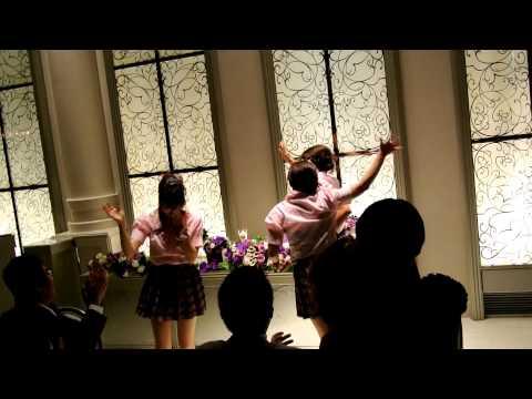 ゆほ結婚式2012.9.9 (AKBポニーテールとシュシュ)