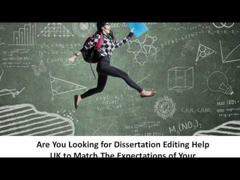 Best Dissertation Writing Help Uk