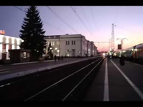 ЧС7-271 со скоростным на станции Тула-1 Курская