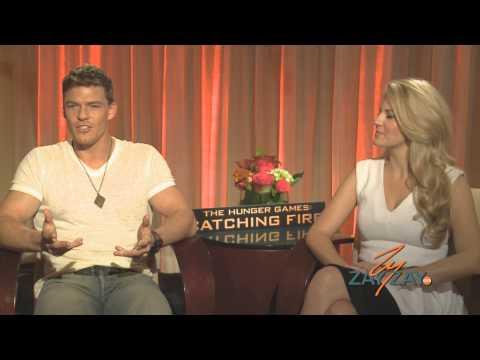 The Hunger Games: Catching Fire  Alan Ritchson & Stephanie Leigh Schlund  ZayZay.Com
