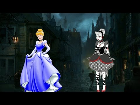 GOTHIC Disney PRINCESSES!