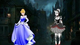 GOTHIC Disney PRINCESSES!