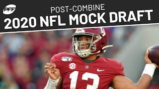 Post-Combine 2020 NFL Mock Draft | PFF