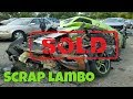 DESTROYED Lamborghini sells for CRAZY MONEY at Salvage Car Auction