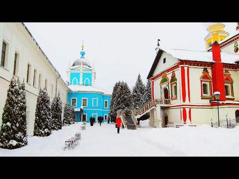 Свято Троицкий Ново Голутвин монастырь в Коломне / Holy Trinity Novo Golutvin Monastery In Kolomna