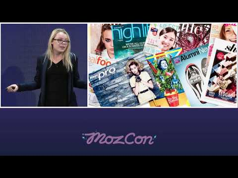 MozCon 2015 - 20 - Marketing Innovations: Creative PR, Content, And SEO Strategies With Lexi Mills