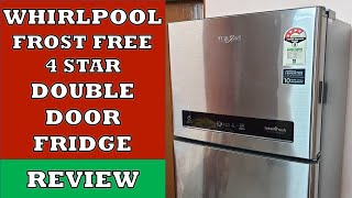 Whirlpool Double Door 4 Star Refrigerator -  Review and Demo