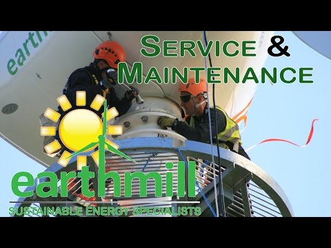 Wind Turbine Service & Maintenance with Earthmill