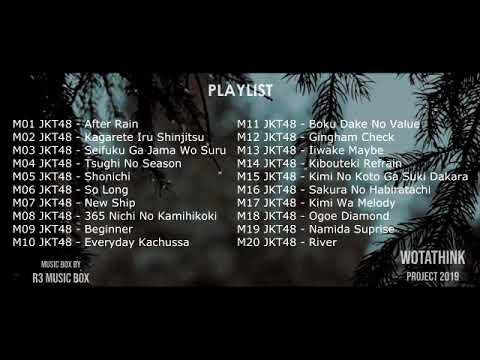 [MUSIK BOX] JKT48 HITS SONG  (Untuk Tidur, Santai, Galau, Belajar) Medley