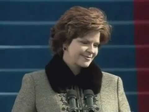 Susan Graham (great American mezzo) - Bless This House - Presidential inauguration 2005 - CAPTIONS