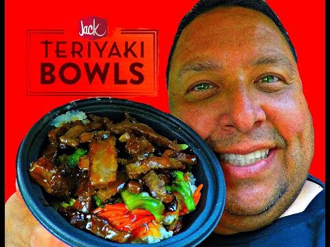 JACK IN THE BOX® TERIYAKI BOWL - STEAK REVIEW!