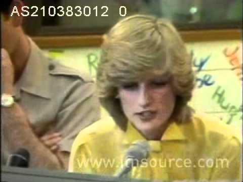 Princess Diana on the radio in Australia