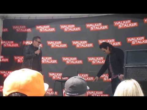 Walker Stalker San Francisco - Jeffrey Dean Morgan panel w/Josh McDermitt