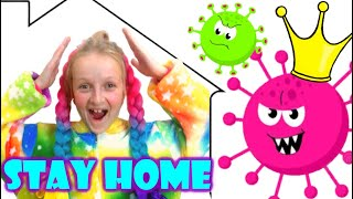 Stay Home song for children by Tawaki kids