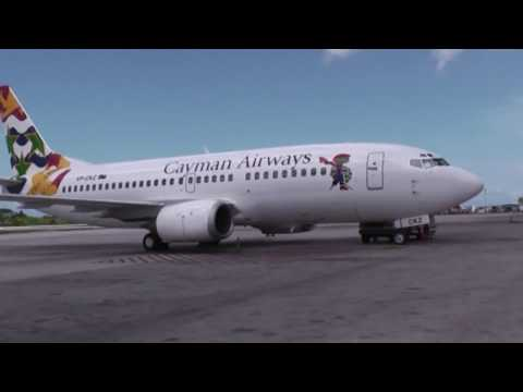 Cayman Airways 604, Montego Bay to Grand Cayman, 05-22-2009