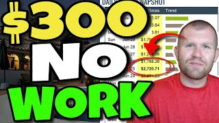 Earn $300 Per Day WITHOUT Doing The Work (FULL Make Money Online Training 2020)