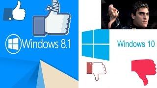Удаляю к чёрту Windows 10, устанавливаю Windows 8.1