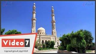 مسجد بدر بطابية أسوان من أقدم كلية حربية لأشهر المعالم السياحية