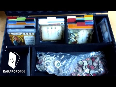 KakapopoTCG Vs Cthulhu   A3 Briefcase Black Arkham Horror TCG Medium Storage    YouTube