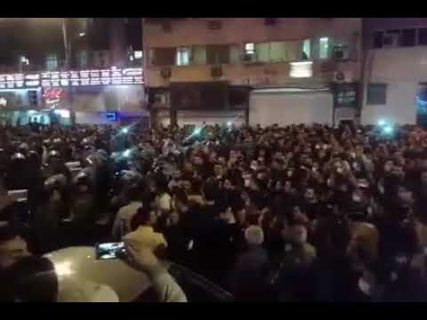 """No to Gaza, No to Lebanon, My life is only for Iran"" Ahvaz Iran uprising 30 Dec 2017"