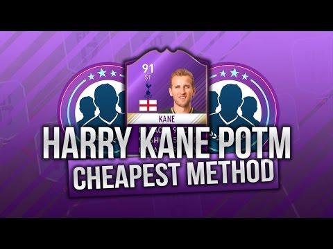 FIFA 17 - *NEW* Harry Kane POTM SBC CHEAPEST METHOD! - New February POTM Harry Kane!