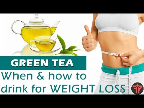 GREEN TEA benefits | How/when to drink | GREEN TEA for weight loss | Hindi | Fitness Rockers