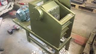 Kivipurustaja LLE300. Jaw crusher electric engine.
