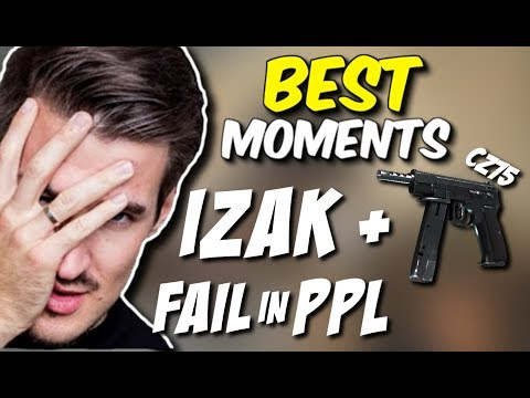 IZAK + CZ, FAIL IN POLISH PRO LEAGUE, INSANE TACTIC - CSGO BEST MOMENTS