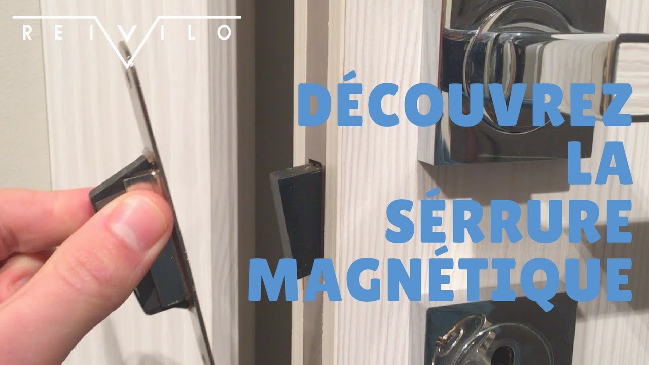 comment fonctionne une serrure magn tique by reivilo youtube. Black Bedroom Furniture Sets. Home Design Ideas