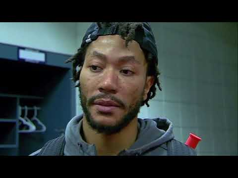 Derrick Rose on Ankle Injury