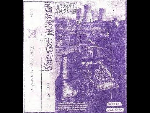 INDUSTRIAL HOLOCAUST demo tape NUCLEAR WARNING 1997
