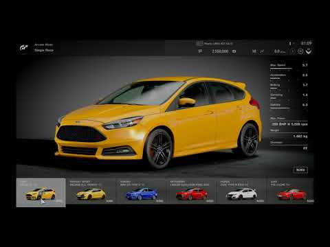 Gran Turismo™SPORT - Delux Edition - First View - General Option and menus