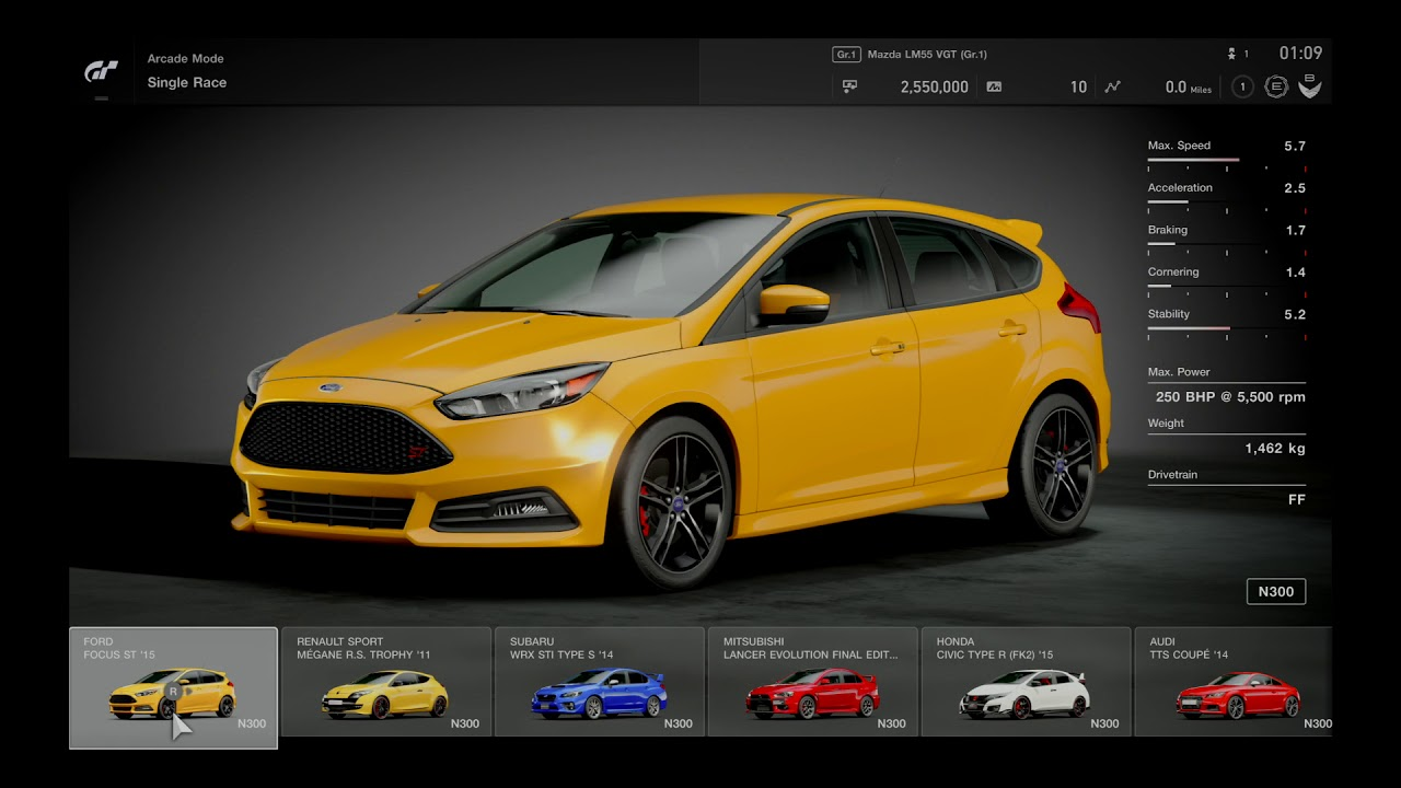 gt sport gran turismo sport deluxe edition first view general option and menus youtube. Black Bedroom Furniture Sets. Home Design Ideas