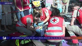Yvelines | 7/8 Le Journal (extrait) – Journées nationales de la Croix Rouge du 12 au 18 septembre