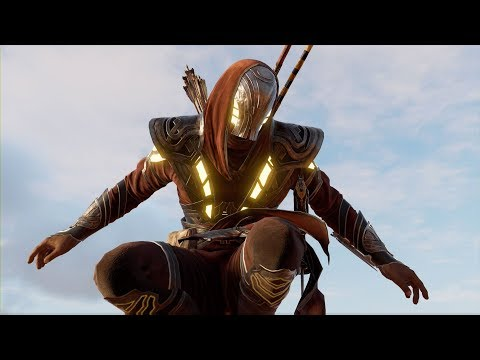 Assassin's Creed Origins - How to Get Secret Isu Armor - Isu Outfit Location & Showcase