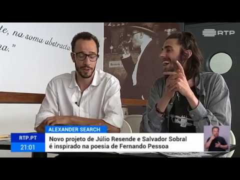 Salvador Sobral e Júlio Resende - 'Alexander Search' album Interview [Portuguese] 30-06-2017