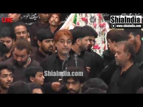 19th Safar Anjuman-e-Masoomeen Matam at Aza Khana-e-Zehra 1437-2015-16