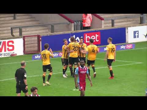 Scunthorpe Cambridge Utd Goals And Highlights