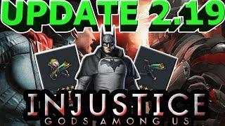 UPDATE 2.19(ОБНОВЛЕНИЕ 2.19)| ПОЛНЫЙ ОБЗОР ОБНОВЛЕНИЯ| Injustice: Gods Among Us mobile(ios)