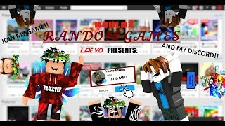 🔴RANDOM ROBLOX GAMES!!! 🔴 || Road to 350! || With Friends and Fans || 🔴 || SUBSCRIBE!!!! ||