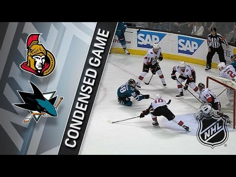 Ottawa Senators vs San Jose Sharks – Dec. 09, 2017 | Game Highlights | NHL 2017/18. Обзор матча
